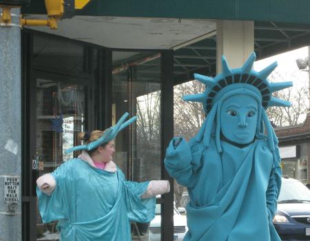 Statue of Liberty Shuffle