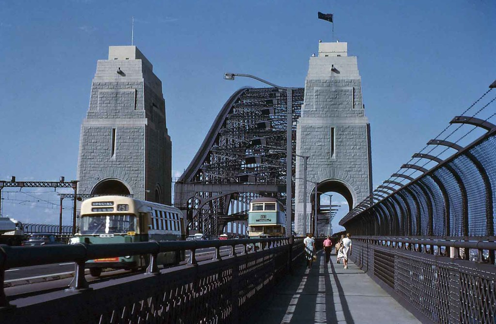Sydney Harbour Bridge 1964