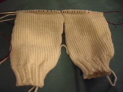 Yoke sweater sleeves