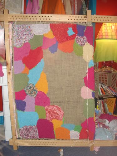 rug frame details for april quilts