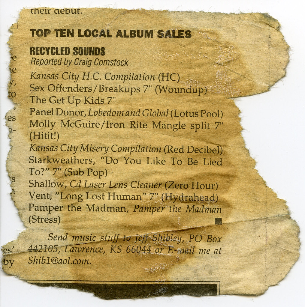 Top ten local album sales 1995