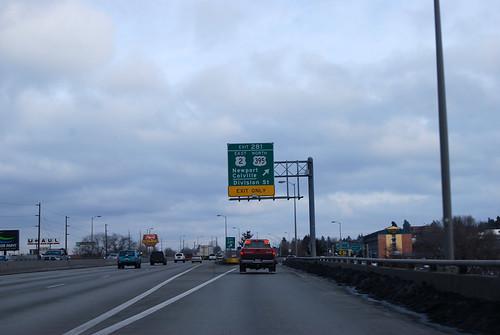 US 2 @ I-90 exit