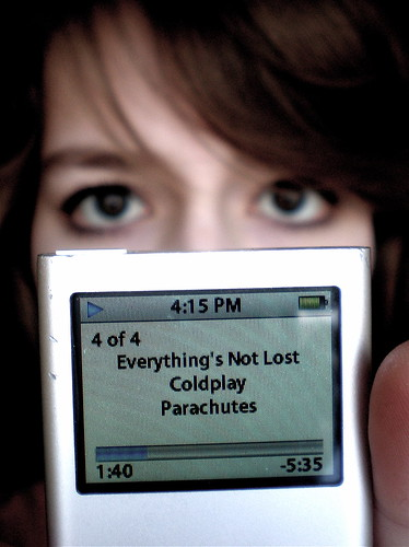 Things I Can't Do #3: Be Without My iPod by Elín Elísabet