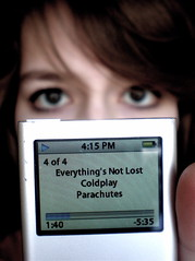 Things I Can't Do #3: Be Without My iPod (Eln Elsabet) Tags: music hair lyrics eyes ipod dof coldplay good song finger title 365days explored everythingsnotlost thingsicantdo