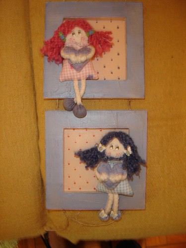 Quadro meninas by ticeruck
