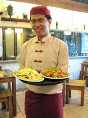 server at Old Chinatown KopiTiam