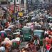 Old Dhaka traffic - Dhaka