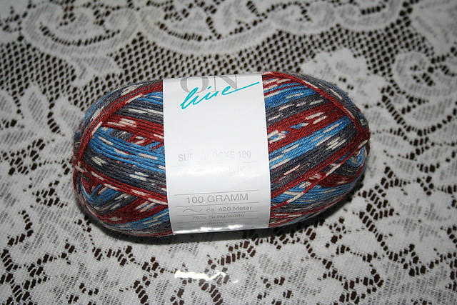 ONline Supersocke 100 - River Colour by BevKnits
