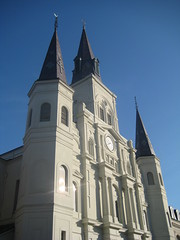 New Orleans - French Quarter - St. Louis Cathedral (wallyg) Tags: church louisiana cathedral basilica neworleans landmark frenchquarter nola cathedrale stlouiscathedral historicdistrict vieuxcarre saintlouiscathedral orleansparish cathedralbasilica orleanscounty nationalregisterofhistoricplaces nrhp vieuxcarré usnationalregisterofhistoricplaces basilicaofstlouis gilbertoguillemard henrysbonevallatrobe henrybonevallatrobe jnbdepouilly vieuxcarréhistoricdistrict vieuxcarrehistoricdistrict jacquesnbdepouilly cathédraledesaintlouis cathedraledesaintlouis basilicaofstlouiskingoffrance cathédraledestlouis cathedraledestlouis basilicaofsaintlouis ushistoricdistrict