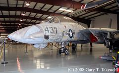 Yanks Air Museum (g_takeuchi) Tags: california plane vintage airplane fighter f14 aircraft aviation airplanes jet aeroplane planes aeroplanes airmuseum yanks tomcat chino cno grumman f14a yanksairmuseum