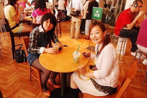 2 young japanese girls in Shibuya