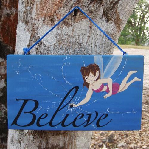 Believe Fairy Sign