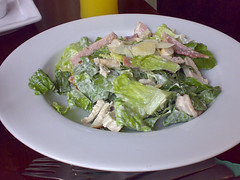 Caesar Salad at The Orchard Bar, Canonmills, Edinburgh