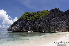 Lahos or Bichara Island in Caramoan, Camarines Sur