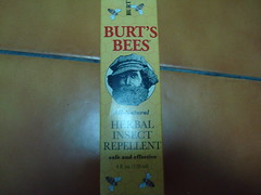 Burt's Bee Herbal Insect Repellent
