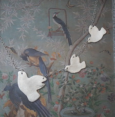 Swooping Doves Necklace (bbel-uk) Tags: silver necklace peace doves solid swooping bbel