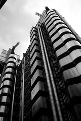Metallic Towers (gottography) Tags: building london lloyds