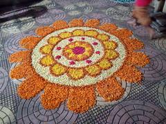 IMG_20170211_191529 (bhagwathi hariharan) Tags: rangoli kolam nallasopara nalasopara rose pooja christmas 2016 festivals mumbai goregaon prithvilandproject 2017 celebrations lordshani lordayyappa