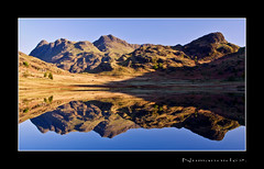 Blea Tarn. (numanoid69) Tags: uk england lake mountains reflections nationalpark lakedistrict cumbria fells tarn reflexions langdale bleatarn prideofengland