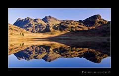 Blea Tarn. (numanoid69) Tags: uk england lake mountains reflections nationalpark lakedistrict cumbria fells tarn reflexions langdale bleatarn prideofengland