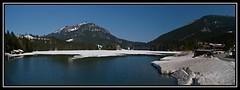 Spitzingsee (Spitzing, Bayerische Alpen, Bayern) (losgor ) Tags: lake ski station alpes germany lago bayern deutschland olympus alemania e3 alpen zuiko bayerische baviera miesbach 1260 spitzingsee landkreis bvaros