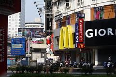 big city life (chenaeee) Tags: city buildings square mcdonalds east malaysia kuala kl lumpur bussle hussle builtup