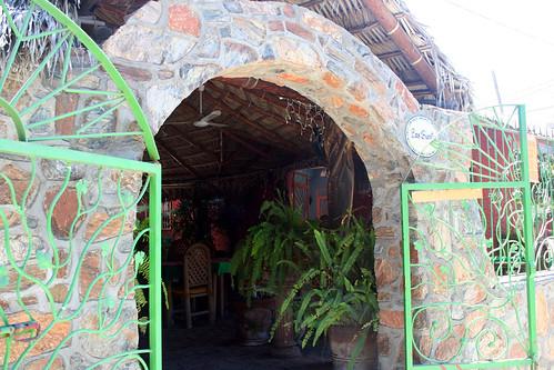 Todos Santos - Las Fuentes Entrance