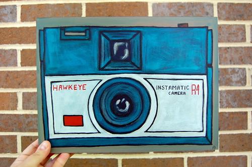 Hawkeye Painting