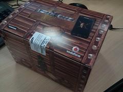 Galaxy S II Vodafone Box