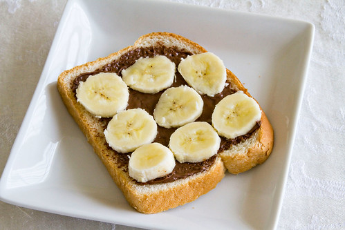 Strawberry Banana Nutella Panini - 1