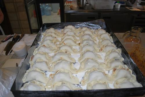Empanadas na Vinícola Zuccardi