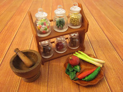 Asian Sundries #4, now with spice rack!