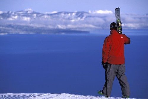 Lake Tahoe scenic view from Heavenly