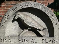 Edgar Allan Poe Grave Marker (P1010664)