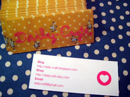 My New Moo Cards Arrived!