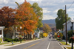 Historic Frostburg, Maryland (Christopher Busta-Peck) Tags: old autumn history fall architecture buildings driving maryland historic roads frostburg cumberlandroad nationalroad nationalpike