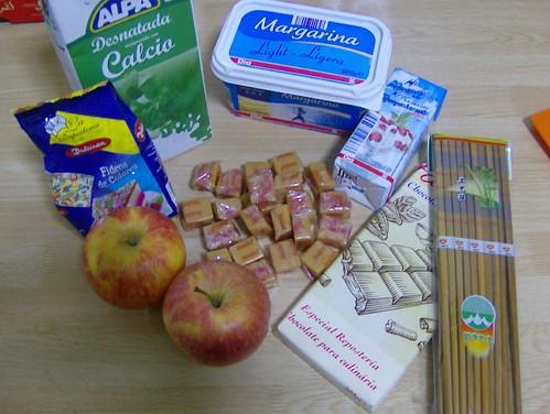 materiales manzana
