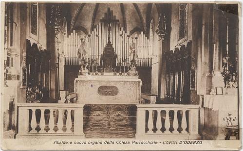 Chiesa di Camino, interno, 1930