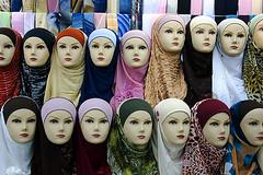 fashion (nischikata) Tags: mannequin fashion shop scarf head muslim hijab jordan scarves kerak hejab