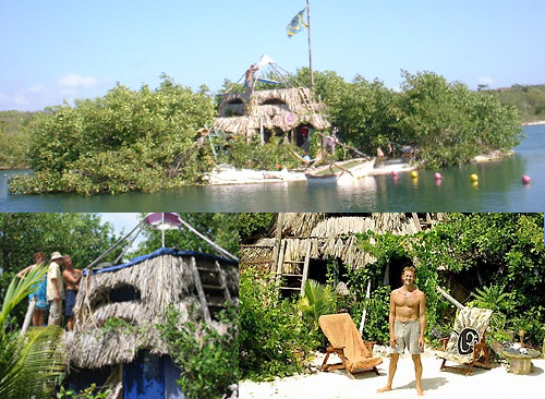 2045198181 1d785bddcd o Man (Re)Builds Mexican Island Paradise on 250,000 Recycled Floating Bottles