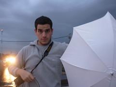 Matani katani (Natash*) Tags: camera bridge winter hat rain umbrella store drops jeep tripod mel mayan cloths behindthescenes tasha radin neta saar matan
