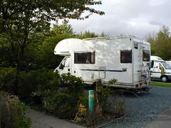 Brown Moor, Caravan Club Site.