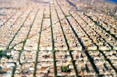 Eixample Barcelona (tilt shift) (oseillo) Tags: barcelona photoshop toy spain espanha euro