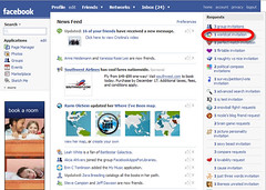 facebook worldcat invitation