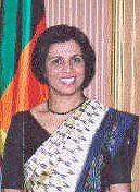 Ms. Geetha de Silva, Sri Lanka Foreign Service (1981)