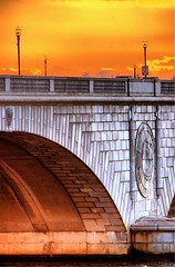 This Wheel's on Fire (Oblivious Dude) Tags: bridge arlington dc washington handheld dcist potomac memorialbridge potomacriver hdr 3exp ultracontrast 55200vr 55200mmvr dynamicphotohdr