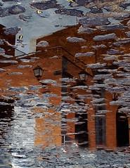 en el charco (n1r4) Tags: island lluvia canarias tenerife canary charco niragr1984