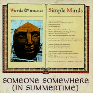 Someone Somewhere In Summertime SINGLE