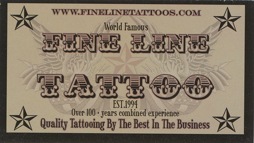 Fine Line Tattoo by HeadOvMetal