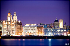 Liverpool Waterfront (petecarr) Tags: skyline night liverpool waterfront dusk